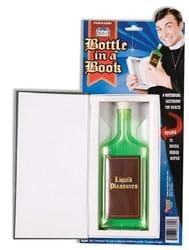 Бутылка святой воды в книге
