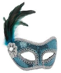 Фото Венецианская маска в блестках