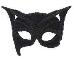 Фото Черная венецианская маска