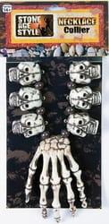 Фото Ожерелье черепа шамана Вуду