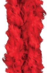 Фото Красное карнавальное боа