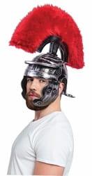 Фото Шлем римского воина с красной щёткой
