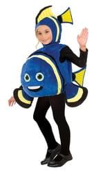 Фото Костюм Морская рыбка (синяя) детский