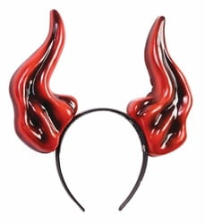 Фото Ободок с рогами Демона