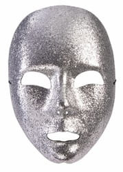 Фото Серебряная маска