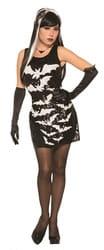 Фото Костюм Летучая мышь (платье) взрослый