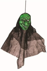 Фото Декорация подвесная голова Ведьмы
