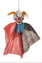 Фото Декорация подвесная голова Клоуна-убийцы