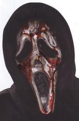 Фото Окровавленная маска Крик