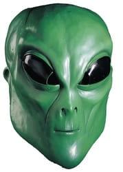 Фото Зеленая маска инопланетянина