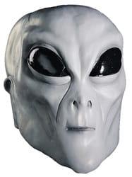 Фото Белая маска инопланетянина