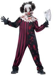Фото Костюм Кровожадный клоун детский