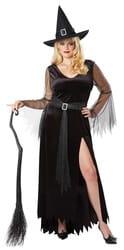 Фото Костюм Богатая ведьма взрослый большой размер