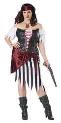 Фото Костюм Красавица пиратка взрослый большой размер