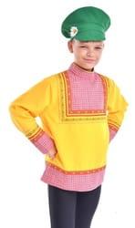 Фото Картуз зеленый детский