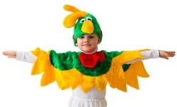 Фото Костюм Попугай в шапке детский
