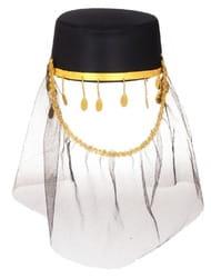 Фото Карнавальная шляпа Шахерезада взрослая