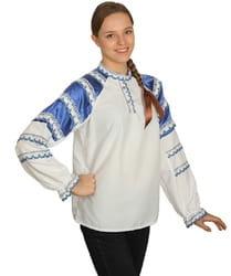 Фото Женская народная рубашка