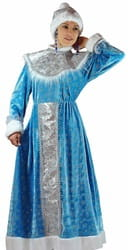 Фото Костюм Снегурочка в платье взрослый