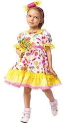 Фото Костюм Конфетка в платье детский