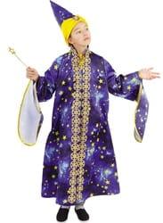 Фото Костюм Звездочет с волшебной палочкой детский