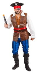 Фото Костюм Пират с мушкетом взрослый