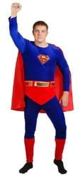 Фото Костюм Супермен с поясом взрослый