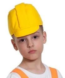 Фото Каска строителя детская
