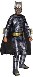 Фото Костюм Бэтмен в маске черно-серый детский