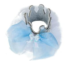 Фото Мини-корона Изабелла детская (на заколке)
