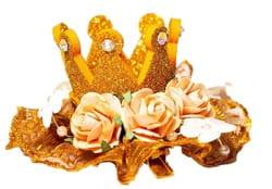 Фото Мини-корона Золушки с розами детская
