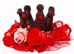 Фото Мини-корона Красной шапочки детская