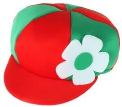 Фото Шляпа Хлопчик (красно-зеленая) взрослая