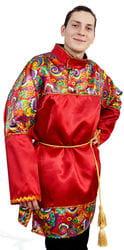 Фото Косоворотка с поясом Русский богатырь взрослая