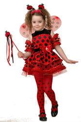 Фото Костюм Божья коровка в платье детский