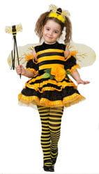 Фото Костюм Пчелка в платье и гетрах детский