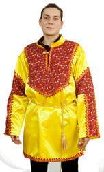 Фото Косоворотка с поясом народная (большой размер) взрослая