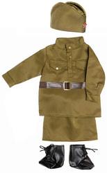 Фото Костюм Солдаточка в юбке для малышей детский