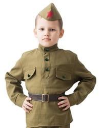 Фото Костюм Солдат с пилоткой детский