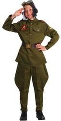 Фото Костюм Военный летчик люкс детский