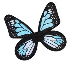 Фото Крылья бабочки (голубые) детские