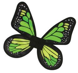 Фото Крылья бабочки (зеленые) детские
