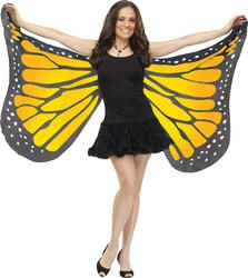 Фото Крылья бабочки (желтые) взрослые