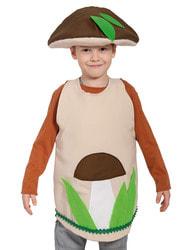 Фото Костюм гриб Боровик в шляпе детский