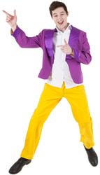 Фото Костюм Стиляга с фиолетовым пиджаком взрослый