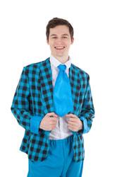 Фото Костюм Стиляга - пиджак и галстук взрослый