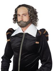 Фото Парик и борода Шекспира