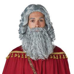 Фото Парик и борода библейского мудреца