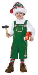 Фото Костюм рождественский эльф-мальчик детский