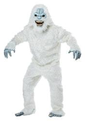 Фото Костюм Снежный человек в движущейся маске взрослый